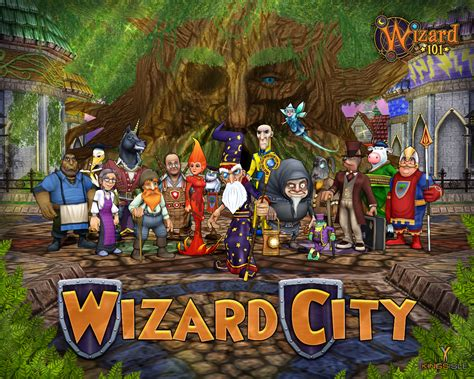 *exclusive* Wizard 101 Wallpaper!  West Karana