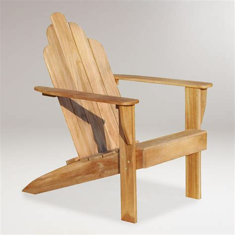 teak adirondack chair world market
