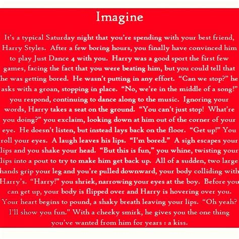 Harry Styles Imagines He Cheats On You