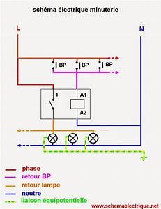 schema electrique minuterie unipolaire branchement et With comment installer un lampadaire exterieur 0 branchement luminaire ikea