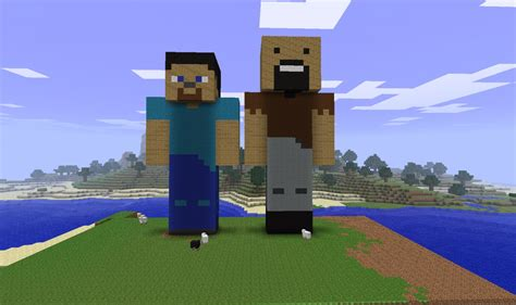 player statue minecraft project