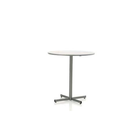table de cuisine ronde table de cuisine ronde en stratifié hauteur 90 cm ou 110