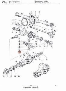 Differential Locking Nuts  Philidas  Mk1  U0026 Mk2 Escort