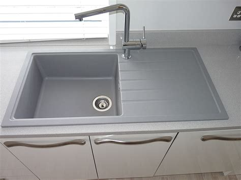 kitchen sink grey water kitchen sink and tap inspiration sinks taps 5819