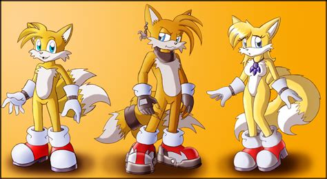 Tails New Look Commission By Darkfoxprojectx On Deviantart