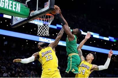 Lebron Jaylen Brown Celtics Lakers James Boston