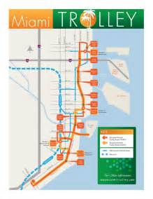 Miami Beach Trolley Map