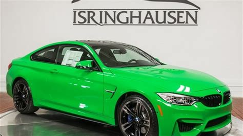 M4 Cost by Brand New Signal Green Bmw M4 Costs 86 042