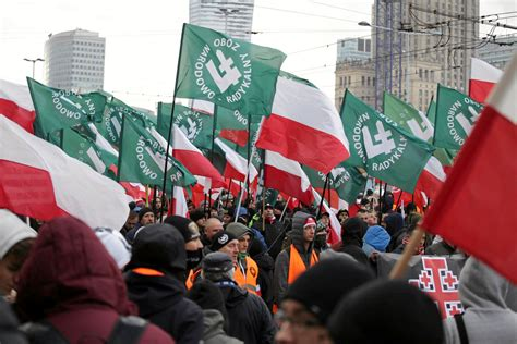 Nationalist March Dominates Poland's Independence Day - The New York Times