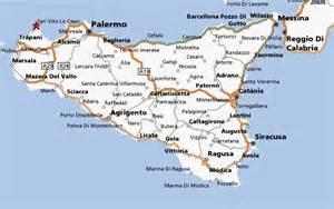 Sicily Italy Map