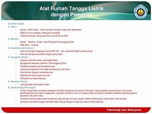 Ppt - Maintenance And Repair Alat Rumah Tangga Listrik Powerpoint Presentation