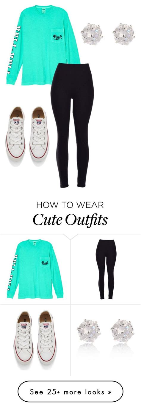 U0026quot;Cute outfit for schoolu0026quot; by ryleemendel on Polyvore featuring Victoriau0026#39;s Secret Converse River ...