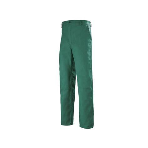 pantalon cuisine pas cher pantalon de travail pas cher vert fonce 1bas80cp lafont