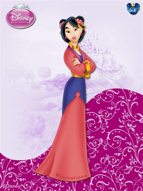 DisneyPrincess  Mulan ByGF by GFantasy92 on DeviantArt