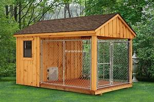 info amish made wooden sheds With amish dog kennel plans