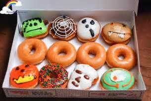 Dunkin Donuts Pumpkin Donuts 2017 by Rina S Rainbow Krispy Kreme S Krispy Skreme Halloween