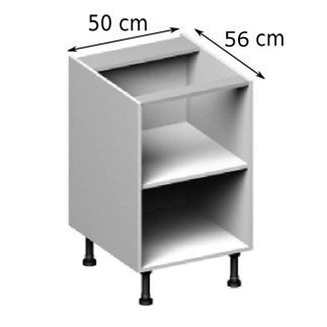 meuble cuisine 50 cm largeur meuble caisson bas largeur 50 vial menuiserie cuisine