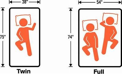 Twin Mattress Double Bed Inches Dimensions Comparison