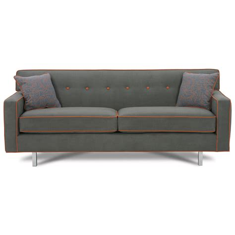 Rowe Dorset Sleeper Sofa by Rowe Dorset 80 Quot Size Sleeper Sofa With Chrome Legs