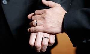 uk couples say 39i do39 as gay marriage becomes legal With gay wedding ring right hand