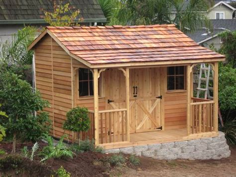 ranchouse sheds prefab guest cottage kits  sale cedarshed usa