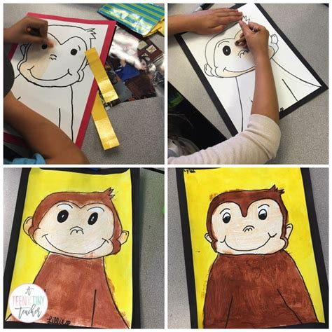 curious george activities images  pinterest
