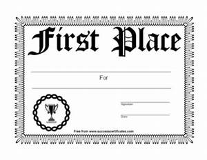 1st place certificate 6 certificate templates teachers With 1st place certificate template free