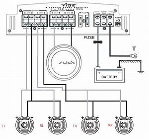 Crunch 2 Channel Amp Wiring Diagram