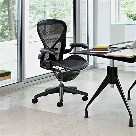 Office Chairs On Hardwood Floors by Vinyl Office Chair Mat By Terazzo For Floor Tile