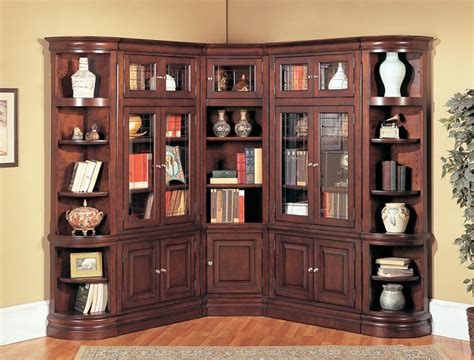 Corner Bookcases With Doors by 25 Great Corner Bookcase Ideas Inhabit Ideas