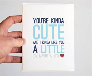I Love You Card Card Funny Anniversary Card You're by ...