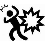 Danger Hidden Icon Svg Accident Onlinewebfonts