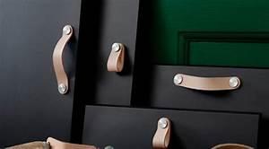 Poignée Meuble Cuir : les poign es en cuir stern s le d tail qui change tout ~ Teatrodelosmanantiales.com Idées de Décoration