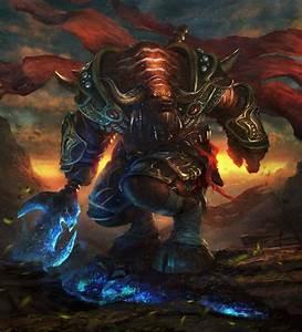 Tauren warrior by Grosnez on DeviantArt