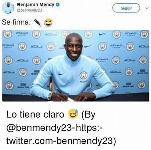 Benjamin Mendy Seguir Se Firma Lo Tiene Claro 😅 by ...