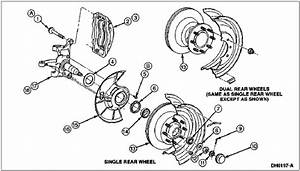 Front Brake Rotors On A 97 F350  Do I Have To Pull The