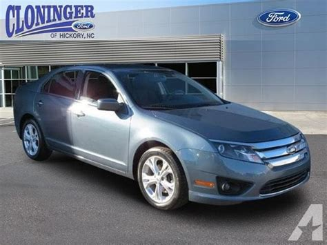 ford fusion se dr sedan  sale  hickory north