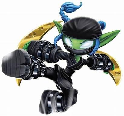 Elf Skylanders Stealth Ninja Halloween Spyro Swap