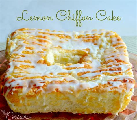 lemon chiffon cake with glac 233 lemon icing little miss celebration