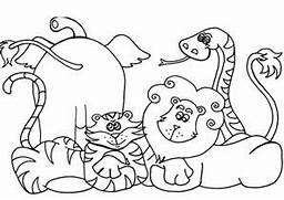 awesome preschool coloring 17 zoo animal coloring pages