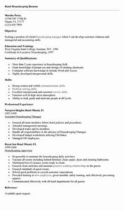 Example Summary For Resume Of Entry Level Good Professional Housekeeping Resume Example You Need To