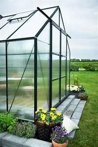 Serre De Jardin Polycarbonate : serre de jardin halls magnum 8 30 m2 verte polycarbonate ~ Dailycaller-alerts.com Idées de Décoration