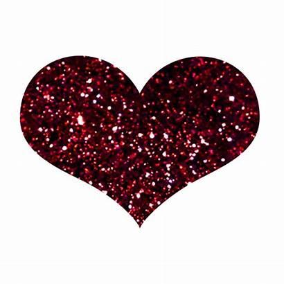 Heart Glitter Animated Hearts Sparkling Clipart Clip