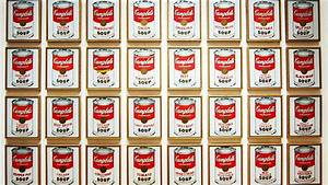 Thief Makes Off with 7 Warhol 'Campbell's Soup Cans' Prints