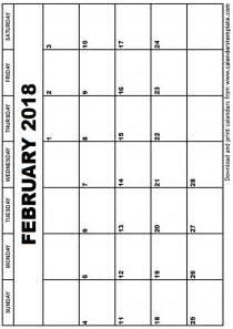 January 2017 Calendar Printable Template