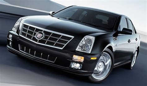 cadillac sts sedan excellent power stylish