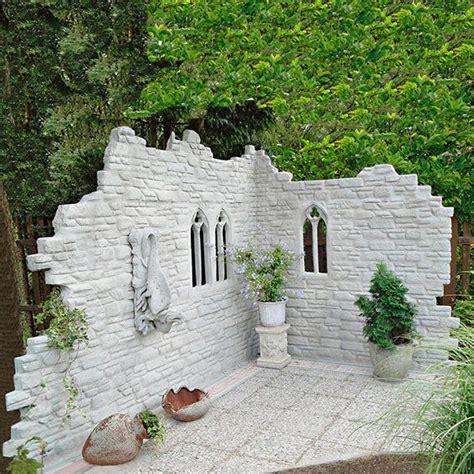 Deko Mauer Im Garten by 100 Besten Mauern Steinw 228 Nde Bilder Auf