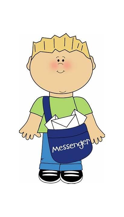 Messenger Helper Classroom Clipart Job Clip Jobs