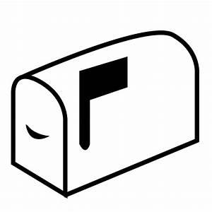 Black mail box clipart - Clipground
