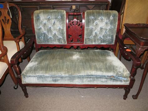 antique settee bench antique eastlake style settee ebay
